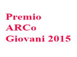 Proclamazione vincitori Premio ARCo Giovani 2015