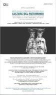 Master biennale internazionale di secondo livello: Culture del Patrimonio